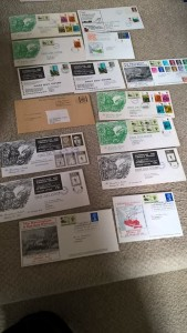 LOT 11: Collection of R&ER first day covers 1969 - 1974. Excellent condition