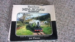 LOT 4: River Irt 54 piece jigsaw. Complete in creased box.
