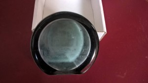 LOT 5: Katie glass paperweight produced to mark Eaton Hall Railway centenary.