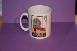 Porcelain Mug, Rear Poster